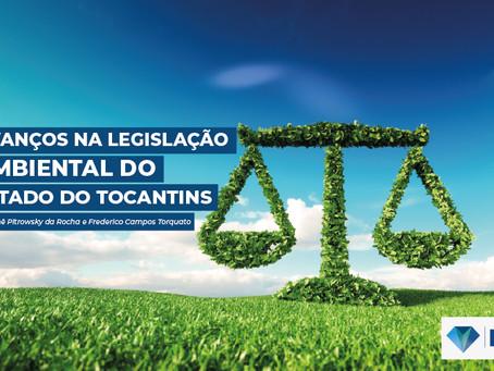 AVANÇOS NA LEGISLAÇÃO AMBIENTAL DO ESTADO DO TOCANTINS