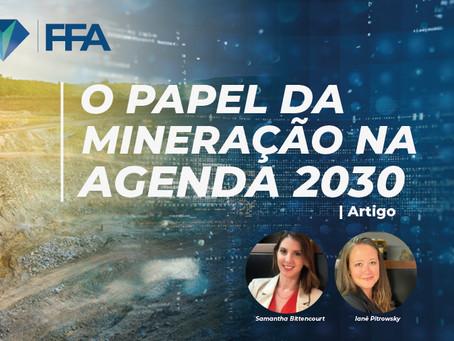 O Papel da Mineração na Agenda 2030