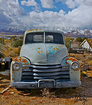 old chevy truck art by Weezy