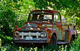 old ford truck art