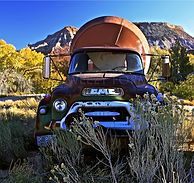 old concrete truck gmc