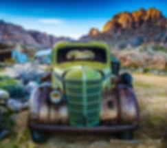 Rusty Truck Art International by Weezy