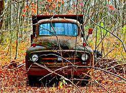 old international truck art