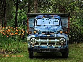 old ford truck art by Weezy