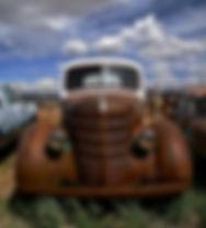 Rusty Truck Art Inteernational by Weezy