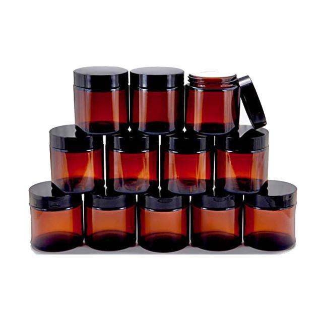 4oz Glass Jars with Lids