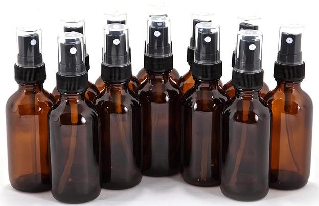 2oz Glass Spray Bottles
