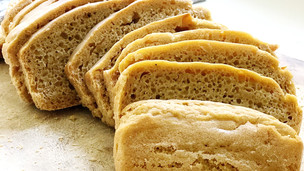 Easy No-Knead Einkorn Sandwich Bread