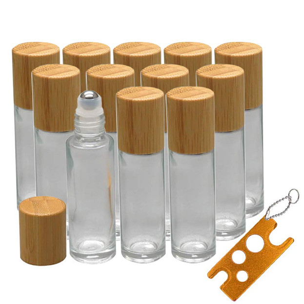 10ml Roller Bottles with Stainless Steel Rollerball