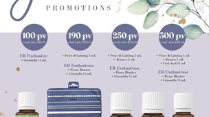 June 2020 Promotions from Young Living