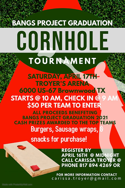 Copy of Cornhole Sport Game Tournament -