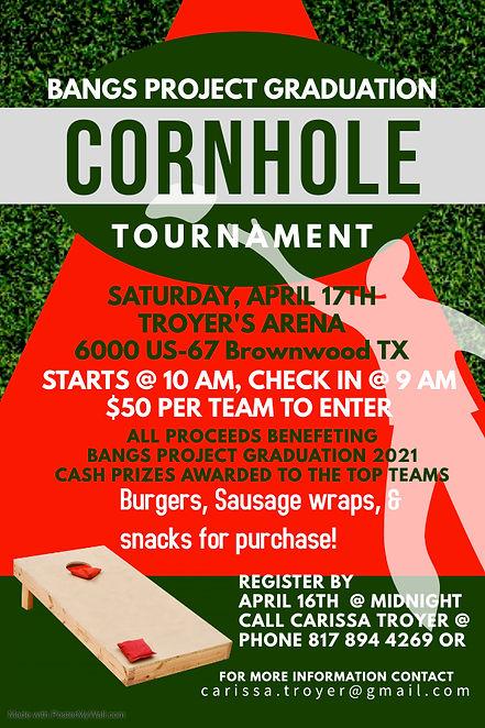 Copy of Cornhole Sport Game Tournament -