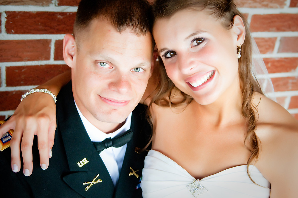 strong Army combat aviator and resilient military spouse