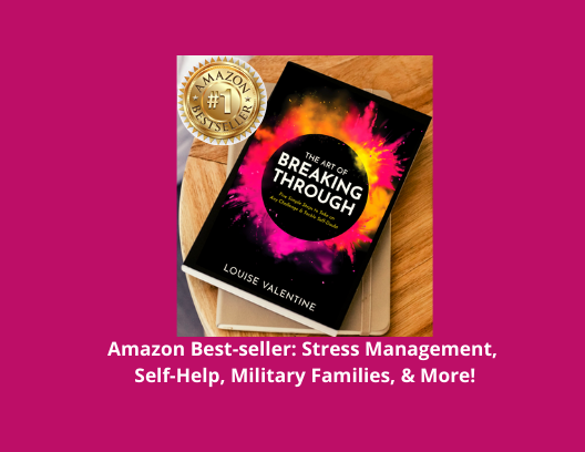 Best-Selling Book for Stress Management, Military Families, Sports Science, and Self-Help