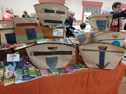 carnets et sacs customisés la p art beyl