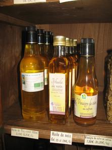 Des huiles