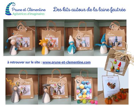 Les kits créatifs de Prune et Clémentine