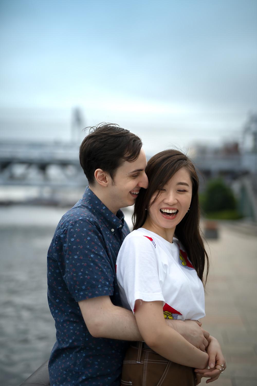 Pre-Wedding Photography Tokyo Japan Photoshoot Couple