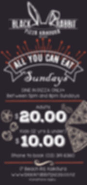 All you can eat Sundays