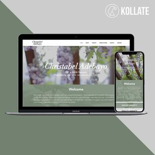 Christabel Adebayo Website