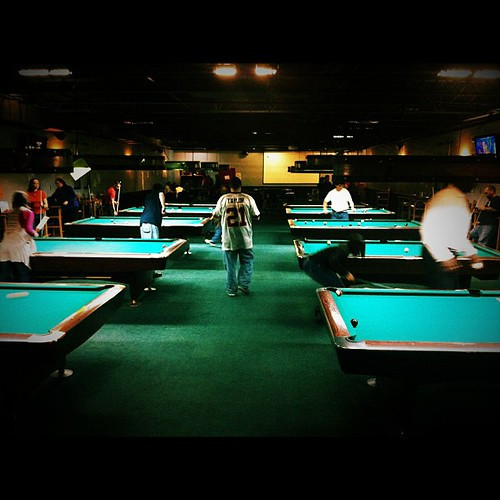 156: lucy's has pool leagues