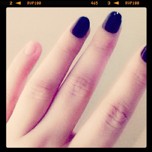 298: I'm too hard on my hands to have fake nails.