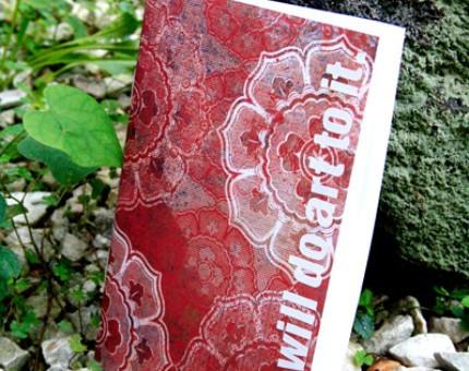 Sakosketchbook : we will do art to it : by psychosako on Etsy