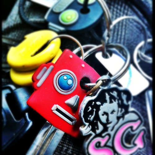 65: 1/3 of my keys