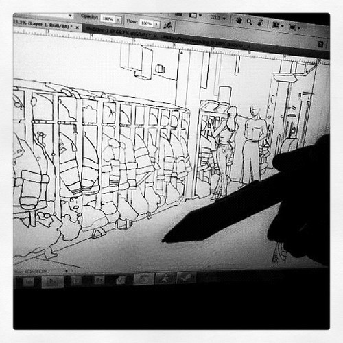 299: drawin' comics