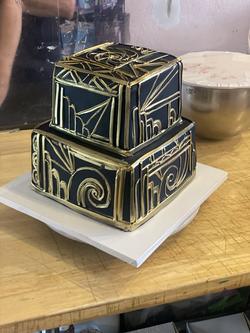 Art Deco Cake