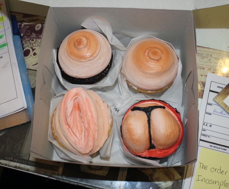 Pussy Cupcake