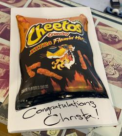 Cheetos Cake