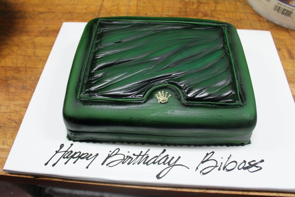 Rolex Cake