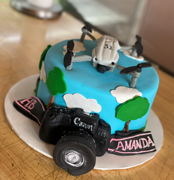 Drone Cake