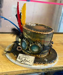 Burning Man Cake
