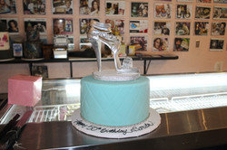 Heels Cake