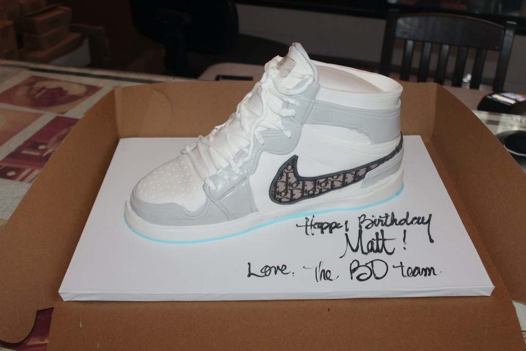 Dior Sneaker Cake