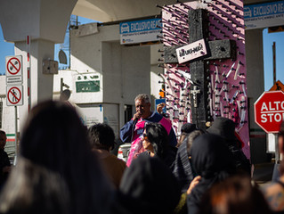 Pie de Página talks with activist Jose Luis Castillo, Red Note podcast team about Juarez femicides