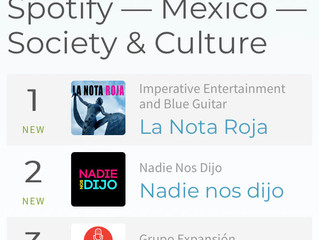 The Red Note podcast climbs to #1 on Spotify's Society & Culture chart