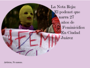 The Red Note podcast profiled in Artistas no musas