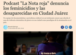 The Red Note podcast profiled in El Economista