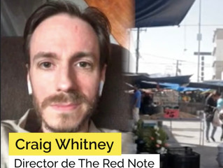 Director Craig Whitney discusses the making of The Red Note podcast with Subrayado