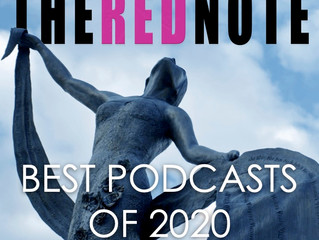 The Red Note ranked among 2020's best podcasts by news sites across the globe [updated]