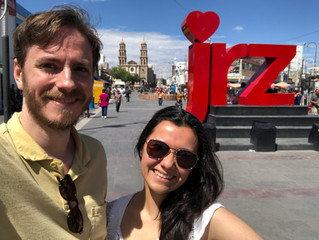 The Red Note location scouting in Ciudad Juarez