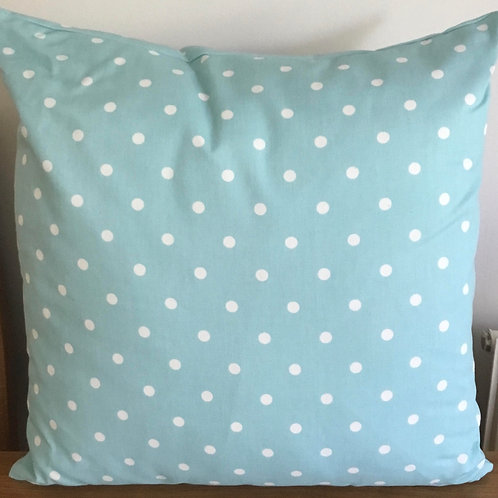 Blue polka dot Cushion