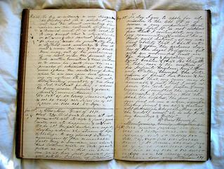 buy a blank notebook
