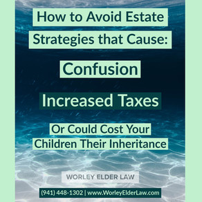 How to Avoid Poor Estate Planning Strategies