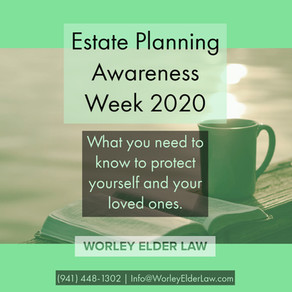 Estate Planning Awareness Week 2020