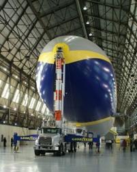 Airship in Hanger