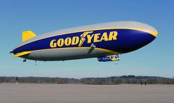 FIrst Flight of Airship